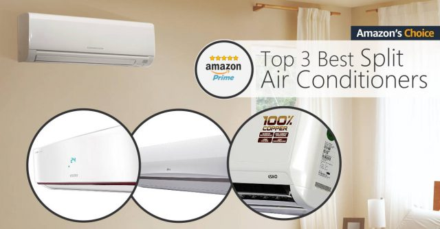 Top 3 Best Selling Split Air Conditioners India 2019